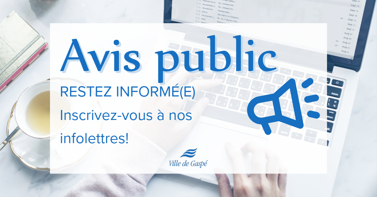 Public notice - newsletters