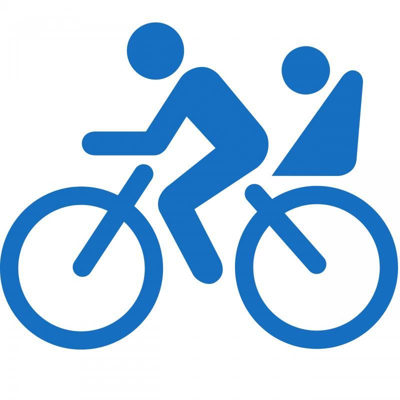 Piste cyclable de Gaspé - Entrée Centre-ville