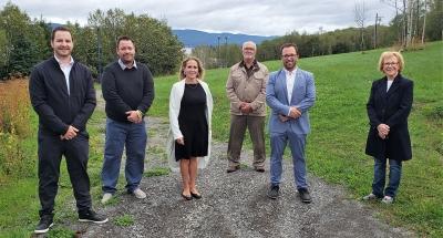 Major rental housing development project in Gaspé: Le Domaine de la Baie will create 144 rental housing units in Gaspé