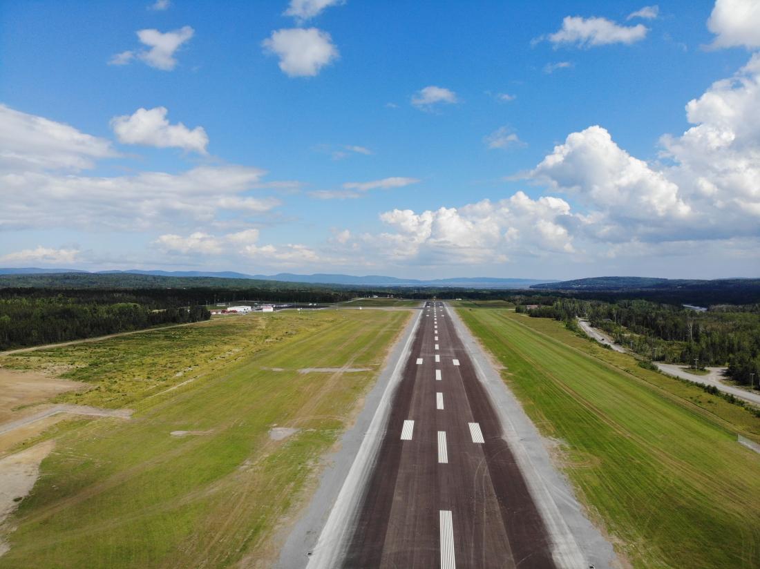 A NEW AIR CARRIER WELCOME TO MICHEL POULIOT DE GASPÉ AIRPORT!
