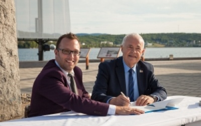 La Ville de Gaspé et la Ville de Saint-Malo officialisent leur jumelage!