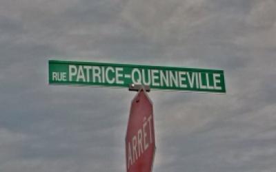 La rue Patrice-Quenneville maintenant identifiée