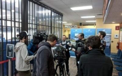 La Ville de Gaspé dévoile son projet de développement de l'aéroport Michel-Pouliot de Gaspé