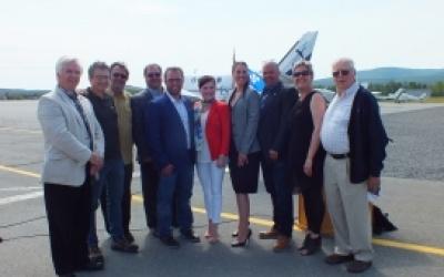 La Ville de Gaspé se réjouit des annonces gouvernementales  en matière de transport aérien
